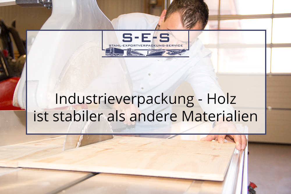 Industrieverpackung Holz